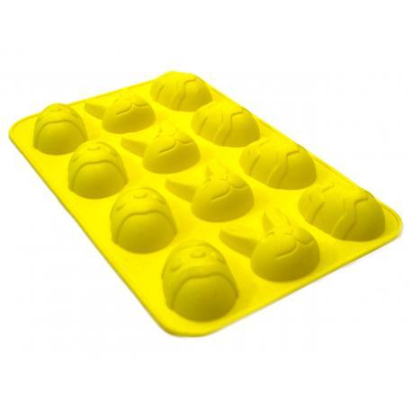Forma silikonowa - wielkanocna - jajka