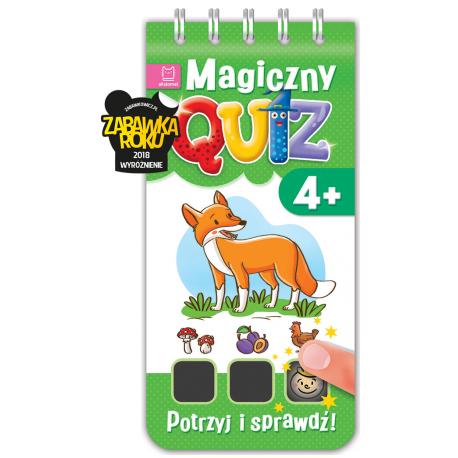 Magiczny quiz. Dotknij i sprawdź od 4 lat cz. 1