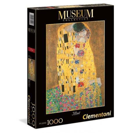 Puzzle Clementoni - Klimt pocałunek - 1000 el. (12+)