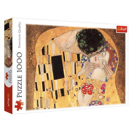 Puzzle 1000 Klimt - Pocałunek