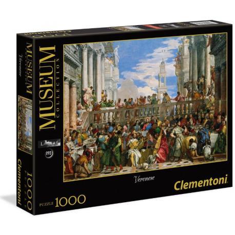 Puzzle 1000 Wesele w Kanie.Veronese