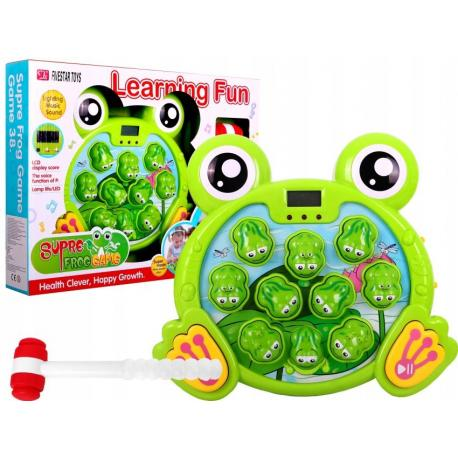Gra zręcznościowa WESOŁE ŻABKI złap żabkę dźwięki