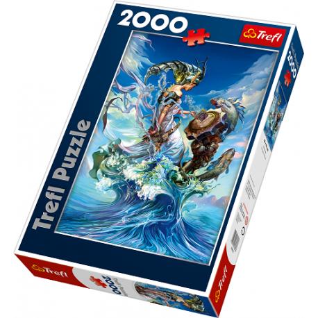 Puzzle TREFL - Królowa Mórz - 2000 el. (27072)