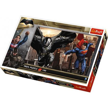 Puzzle TREFL BATMAN VS SUPERMAN - 160 el. (15332)Katalog Produkty